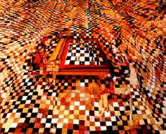 O jogo de xadrez (óleo sobre tela e traços de carvão, 1943)