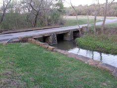Lockhart State Park Tx Stone Bridge