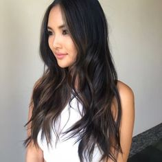 Soft blending chocolate subtle Ombre on Asian hair - Yelp                                                                                                                                                                                 More