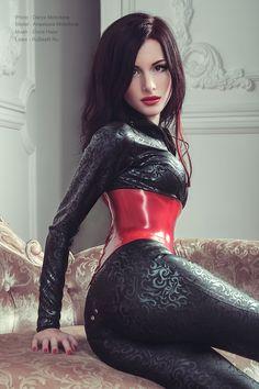 Sexy Latex Models Blog — dublatex1: Damas by latex-rat