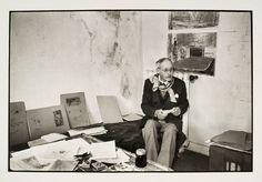 Henri CARTIER-BRESSON    Chanteloup-en-Brie (Seine-et-Marne, France), 1908 - Montjustin (Alpes-de-Haute Provence, France), 2004    Pierre Bonnard à son domicile, Le Cannet    1944
