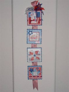 Fourth of July Banner by vickylynnfrisco - Cards and Paper Crafts at Splitcoaststampers