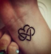 Idea for #9/ adoption ink - infinite love