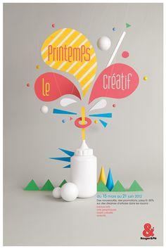 Rougier et Plé - poster rougier - affiche - Portfolio Max Elbling