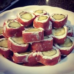 PICKLE WRAPS! I could live off of these.