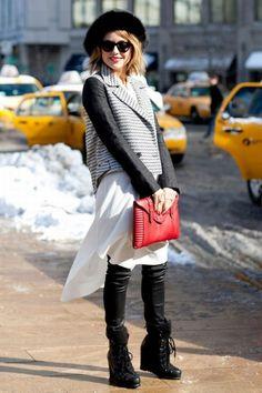 Fresh - Свежий взгляд на стиль - Неделя моды осень-зима 13/14 в Нью Йорке. Стрит стайл