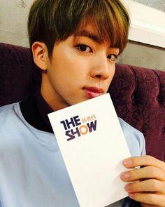151208 #jin - ©sbsmtvtheshow | @bts.bighitofficial - BTS official instagram