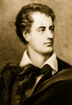 LORD BYRON (George Gordon Byron, 1788-1824) English poet, leading figure in the Romantic movement.