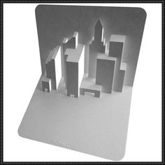 New York Skyline Pop-up Free Paper Craft Download - http://www.papercraftsquare.com/new-york-skyline-pop-free-paper-craft-download.html