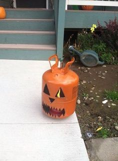 Boo! Propane Tanks, Halloween Yard Decorations, Heating And Air Conditioning, Boiler, Pumpkin Carving, Funny Shit, Pumpkins, Picture Video, Fall Decor