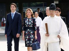 Slideshow : Canadian PM Justin Trudeau with wife on Japan visit - Canadian PM Justin Trudeau's Japan visit - The Economic Times