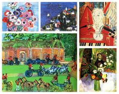 Happy birthday to Fauvist painter, Raoul Dufy, born June 3, 1877 in Le Havre, France.