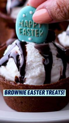 Fun Baking Recipes, Easter Recipes, Sweet Recipes, Holiday Recipes, Cooking Recipes, Fun Desserts, Delicious Desserts, Yummy Food, Easter Treats