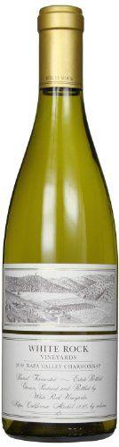 2010 White Rock Vineyards Chardonnay, Napa Valley 750 mL