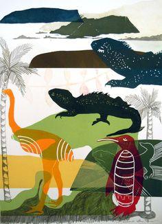 shane tuffery painting - Google Search Nz Art, Arts Ed, Printmaking, New Zealand, Cool Art, Students, Organic, Artists, Models