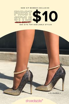 a9f27fa54f0 The Trendiest Styles for Fall at the Best Prices. Get your first pair for  only  10 when you become a VIP! Find Shoes You Can Wear Year Round.