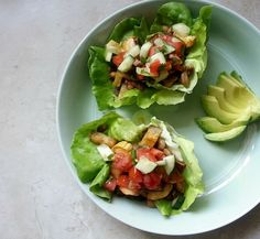 Great use of end of summer produce: Summer Tacos with Cucumber Salsa. #vegan #veganmofo   neatandnutritious.com
