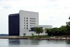 Kennedy Memorial Library in Boston, Massachusetts