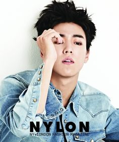 "Actor Lee Hyun Woo showed off his masculine side in his latest photo shoot with the fashion magazine Nylon, reflecting his transformation into a macho man in the movie ""Criminal Designers"" (aka ""The Technicians).  Whether he is wearing a jean jacket while zoning off into space as if he is deep..."