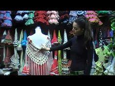 Tres formas de colocarte el mantón de flamenca - YouTube Couture, My Passion, Merry, Painting, Art, Spanish Culture, Flamenco Dresses, Bangs, Hair Combs