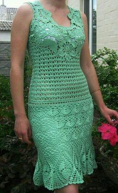 Gorgeous crocheted dress