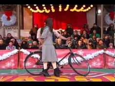 """2013 Macy's Thanksgiving Day Parade: Ariane Reinhart & Michael Campayno's performance of """"16 Going on 17"""" as Leisl and Rolfe for """"The Sound of Music: Live!""""."""