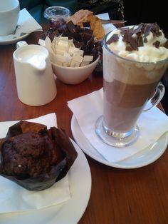 Butlers Chocolate Café, really really really good!
