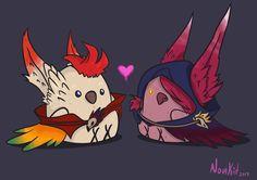 Little birds in love by NovaKiit