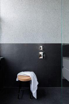 12th Street Loft - Master Bathroom:   #NewYork #interiordesign #architecture #architects  #light #apartment #contemporary #modern #nyc #usa #design #nice #inspiration #designer #interiordesigner #furniture #interior #home #house #bathroom