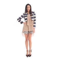 Cropped #blazer e #shorts in fantasia #GianVargian Scopri per la nuova #collezione #2016 e scegli il tuo #stile sul nostro sito!