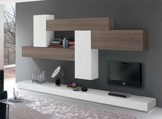 Spar Exential Wall Unit Composition – Anime pictures to hairstyles Living Room Wall Units, Home Living Room, Living Room Designs, Living Room Decor, Memphis Furniture, Contemporary Tv Stands, Modern Tv Wall Units, Tv Stand Designs, Modular Walls