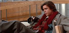 His facial reactions were everything. | 18 Reasons You Had A Crush On John Bender From The Breakfast Club