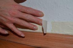Vorbereitungen treffen: Wand abkleben Teil 3