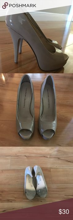 "Chinese Laundry Peep Toe Stilettos - Great Condition  - size 7 - 5"" heel Chinese Laundry Shoes Heels"