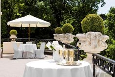 Le Pré Catelan - Cocktail sur la terrasse