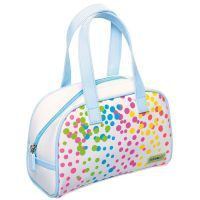 Bobble Art Confetti Small Gloss Bowling Bag www.mamadoo.com.au #mamadoo #bags #wallets
