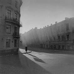 Alexey Titarenko, Untitled, (Woman on the Corner), St. Petersburg, Russia, 1995
