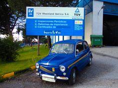 Este mítico 600 también vino a pasar su #ITV a nuestra estación en Navas del Rey. ¡Recuerda que los vehículos de más de 10 años deben pasar su inspección anualmente!