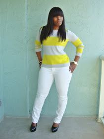 Curves and Confidence | Inspiring Curvy Women One Outfit At A Time: Trending: Neon