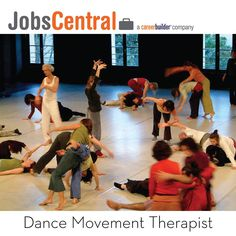 #100glamorousjobs #jobs #career  #dance #therapist by #jobscentral #careerbuilder #malaysia Dance/movement therapists work with individuals of all ages, groups and families in a wide variety of settings.  They focus on helping their clients improve self-esteem and body image, develop effective communication skills and relationships, expand their movement vocabulary, gain insight into patterns of behavior, as well as create new options for coping with problems.  By www.jobscentral.com.my