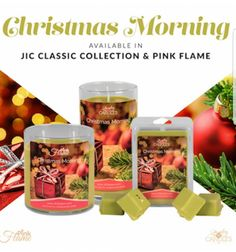 Ring in the holidays! All the joys of Christmas morning bundled in warm vanilla cinnamon fir bergamot and fern. Enjoy this and the maple bacon on Thursday when they release at 7pm.. #jic
