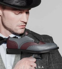 TRADITIONAL DERBY – Lé, Hyena Attire Mens Derby Shoes, Hyena, Brogues, Traditional