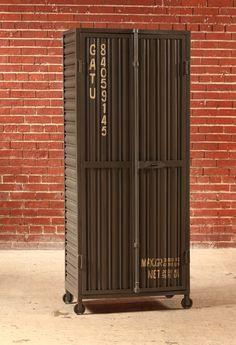 Shipping Container Combo Cabinet - Matt Blatt   Toolbox project ...