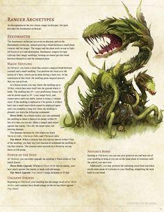Seedmaster Ranger by Jonoman300 / BoltNine Homebrew
