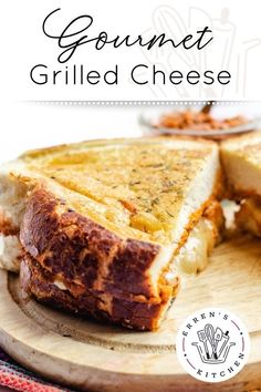 Take grilled cheese another level with this mozzarella pesto sandwich pan cooked in a savory garlic herbed butter.