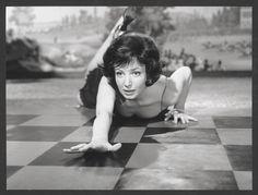 LA NOTTE, 1961 - Monica Vitti, La Nuit (La Notte) de Michelangelo Antonioni, 1961. © Sergio Strizzi