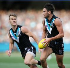Robbie Gray & Chad Wingard Love My Boys, Teal, Football, Club, Running, Black And White, Sports, Soccer, Hs Sports