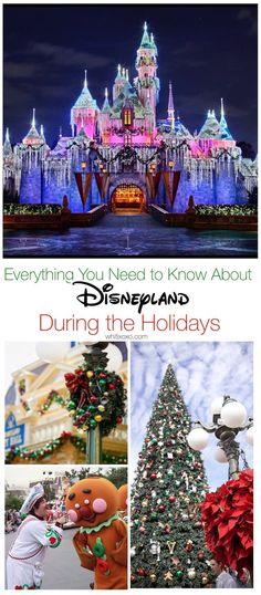 Tips, tricks, and everything you need to know about Disneyland during the holidays so you can enjoy your vacation to the Merriest Place on Earth! Hotels Near Disneyland, Disney Trips, Get Away Today, Disneyland Christmas, Enjoy Your Vacation, Mom Advice, Disney Bound, Baby Crafts