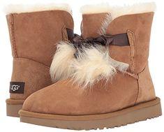 Amazon.com | UGG Women's Gita Pom-Pom Boot | Ankle & Bootie