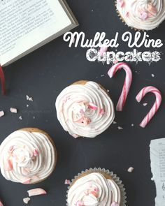 Mulled Wine Cupcakes | christmas recipe | cake & desserts | waseigenes.com
